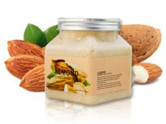 Скраб для тела с Миндалем Pretty Cowry Almond Sherbet Body Scrub (8133), 350 ml